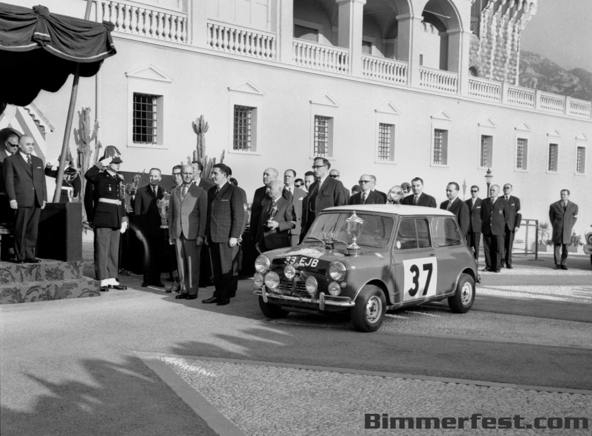 MINI and BMW at techno classica 2014