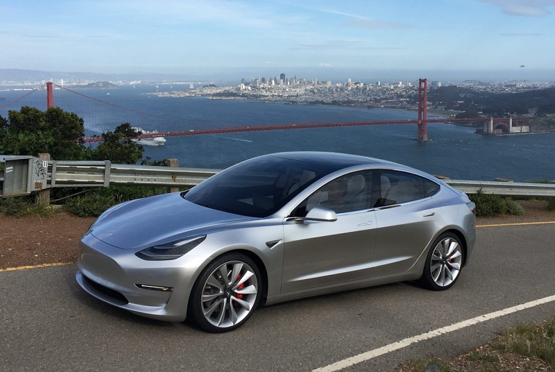 Tesla building model 3