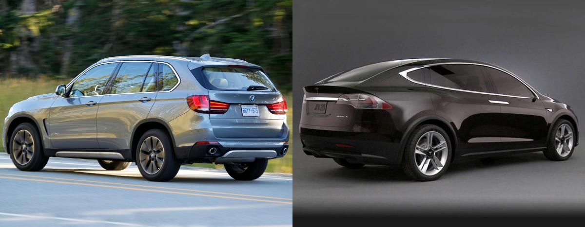 Side by side: BMW X5 vs Tesla Model X - Bimmerfest - BMW Forums