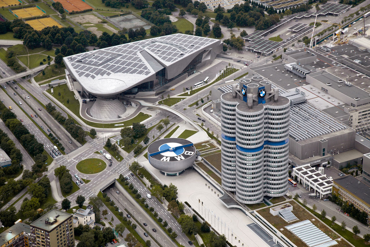 BMW factory in Munich