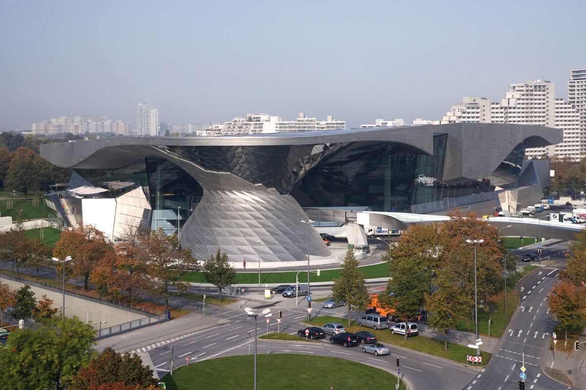 The BMW European Delivery Experience: The BMW Welt, The BMW Museum and The BMW Plant Munich