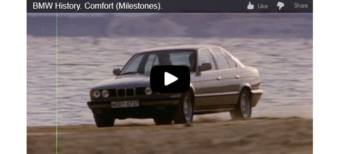 The History of BMW's High Standard for Comfort in the Ultimate Driving Machine