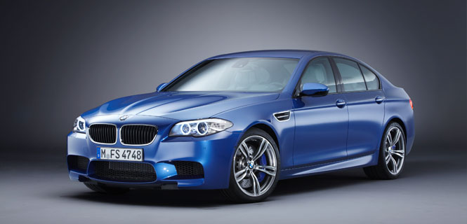 The New BMW F10 M5 Smiles for the Camera -- Official Press Release and Photos