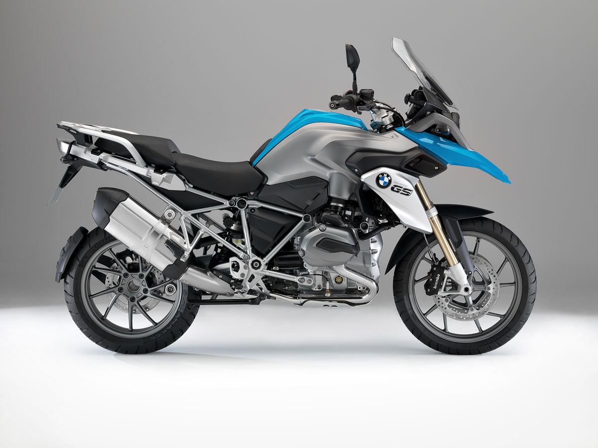 highlights of the new BMW R 1200 GS