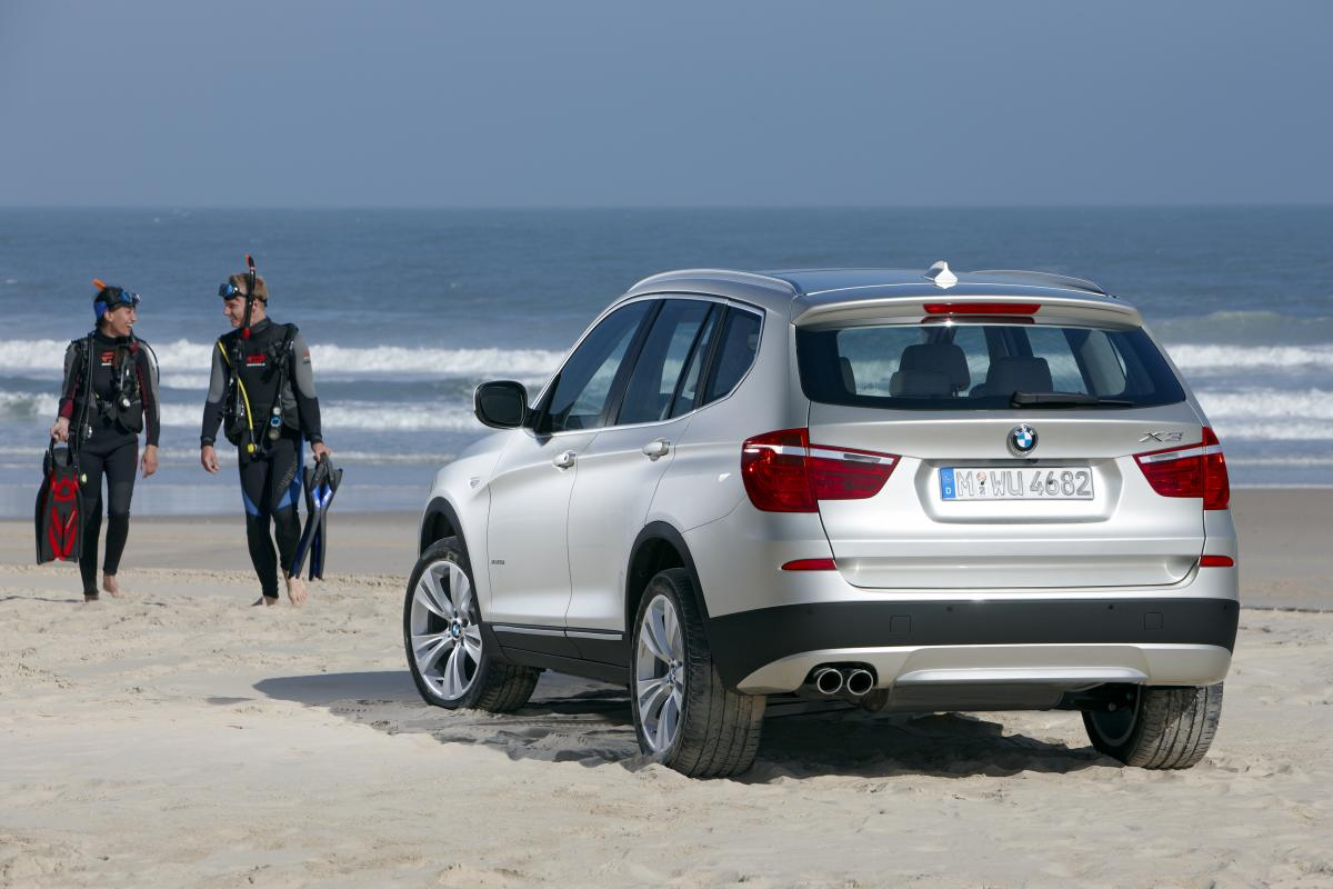 Breaking News: The New BMW X3 (F25) - Official Press ...