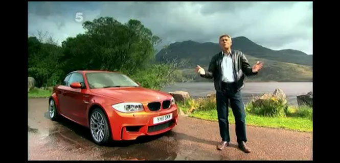 Tiff Needell Drives the BMW 1 Series M Coupe on Fifth Gear