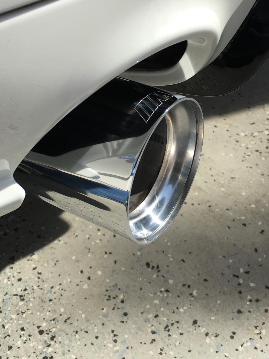 Dirty Exhaust Tips Bimmerfest Bmw Forum