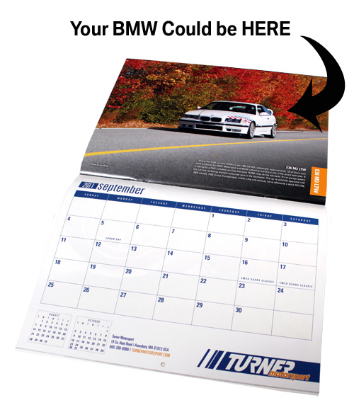 Get your car in the 2012 Turner Motorsport catalog