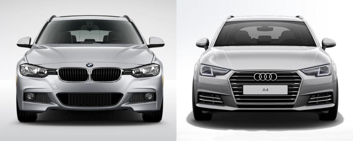 Side By Side Bmw 3 Series Sports Wagon Vs Audi A4 Avant Bmw News At