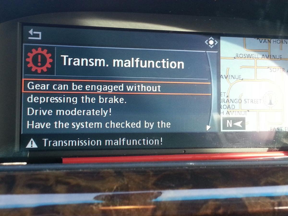 Transmission Malfunction Bimmerfest Bmw Forum