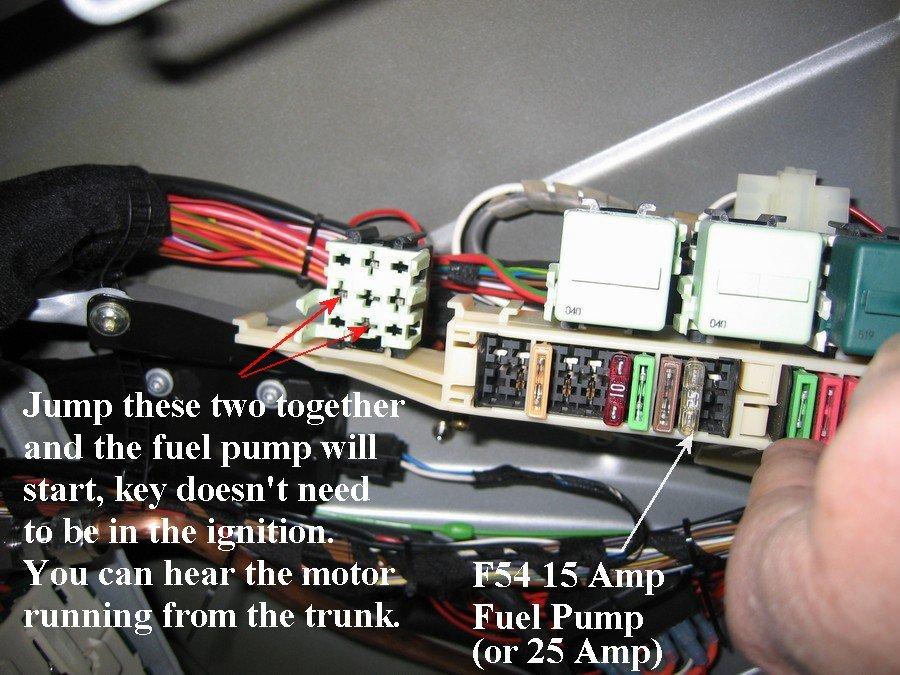 2006 Bmw 325i Fuel Pump Fuse Thxsiempre