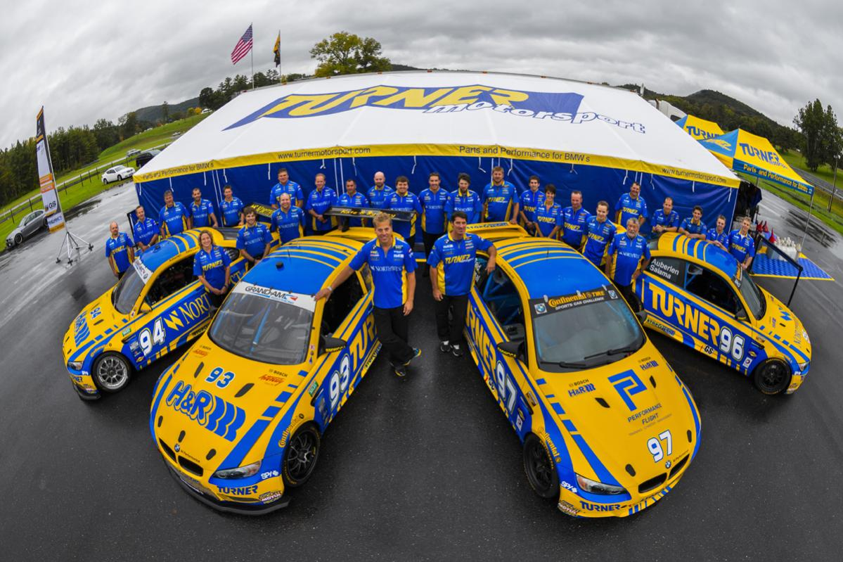 Turner Motorsport Ends 2012 GRAND-AM season Finishes Third in Rolex GT