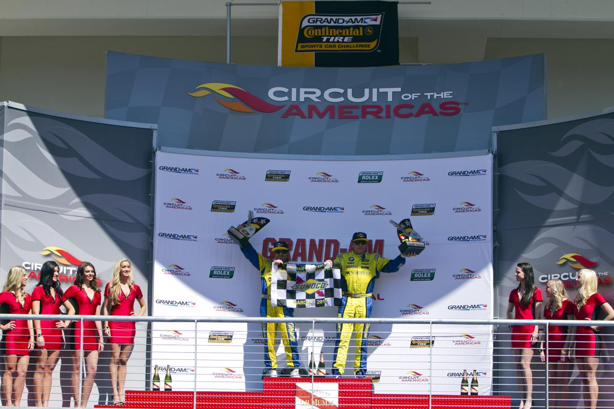 Turner Motorsport No. 96 BMW M3 historic Victory at Circuit of the Americas