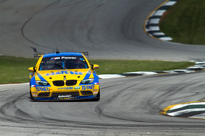 BMW M3 racing at Road Atlanta