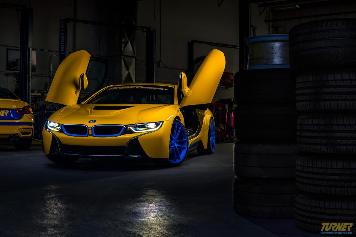 Turner S Insane Project Bmw I8 In Tms Yellow And Blue Bmw News At