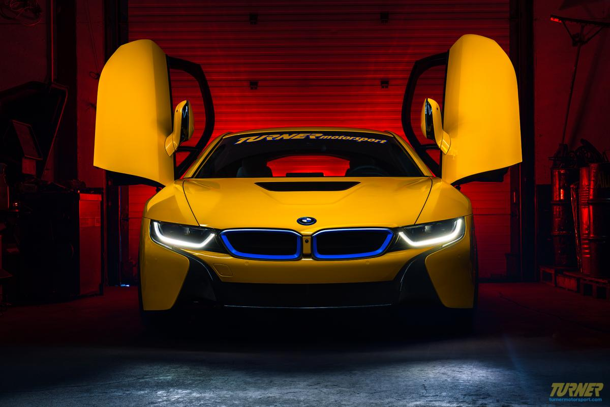 Turner S Insane Project Bmw I8 Is Yellow And Blue Bimmerfest Bmw