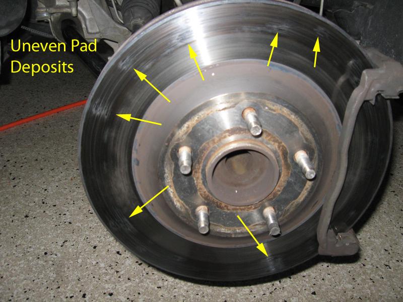 Toyota Sienna Club - Дрожение на большой скорости при торможение.