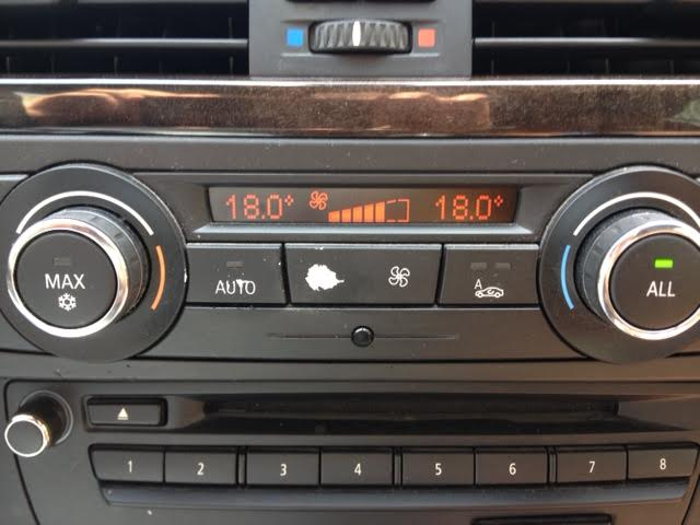 Replacing Climate Control Panel Button