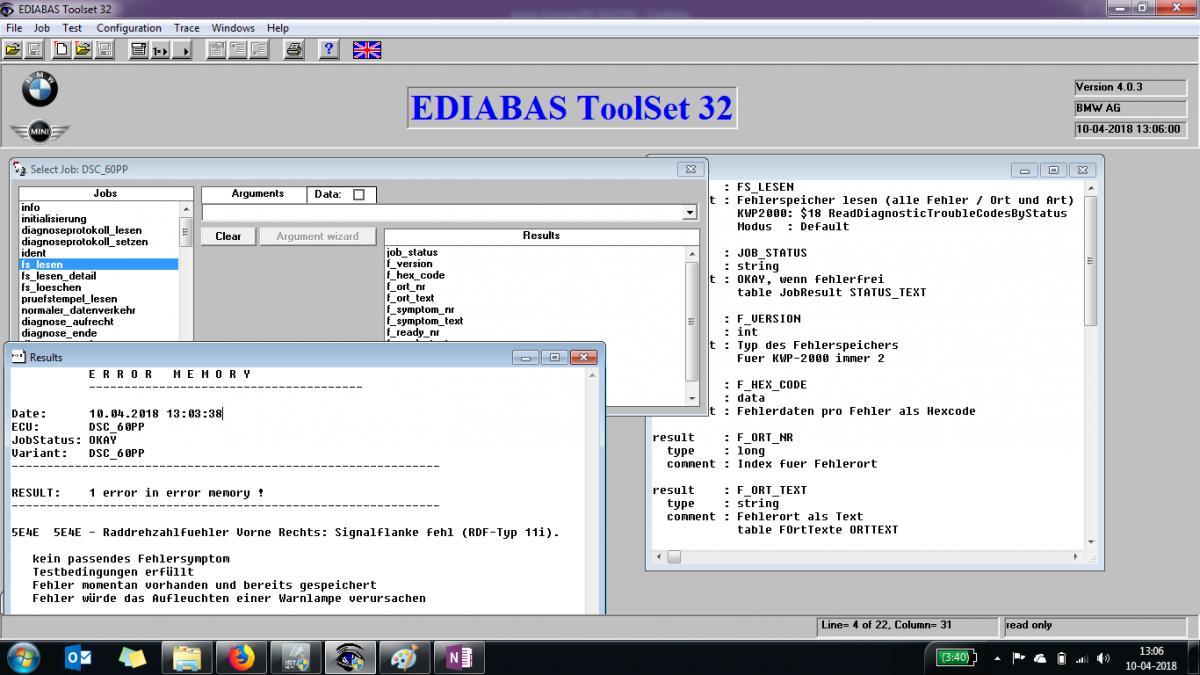 Coding E90 Dsc