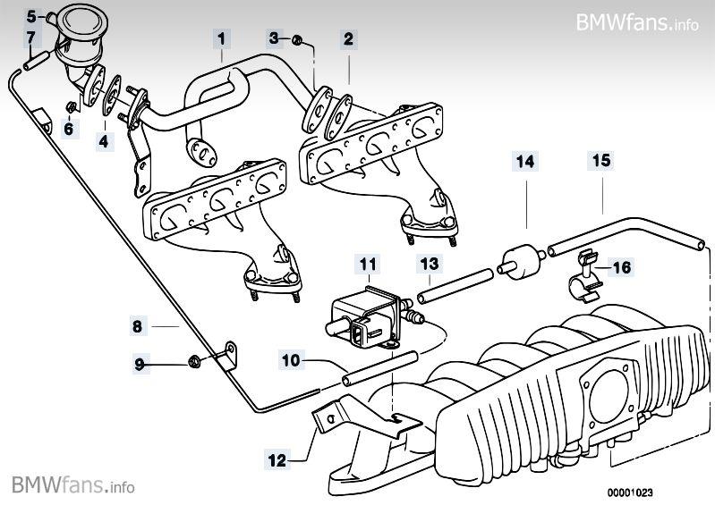 Need help with Vacuum Hose location on 97 BMW 528i
