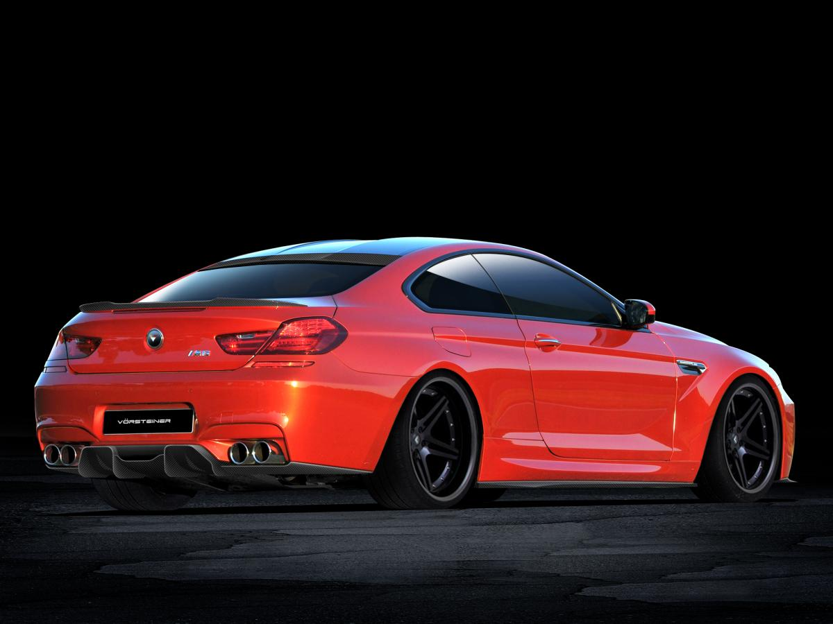 Vorsteiner BMW M6 Carbon fiber diffuser