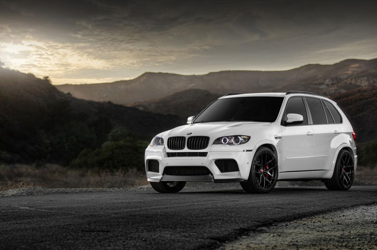 New photos of Vorsteiner's X5 M