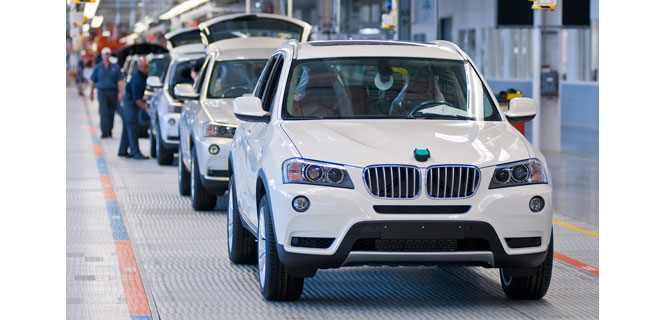 Watch BMW Build your X3 at their Spartanburg Plant