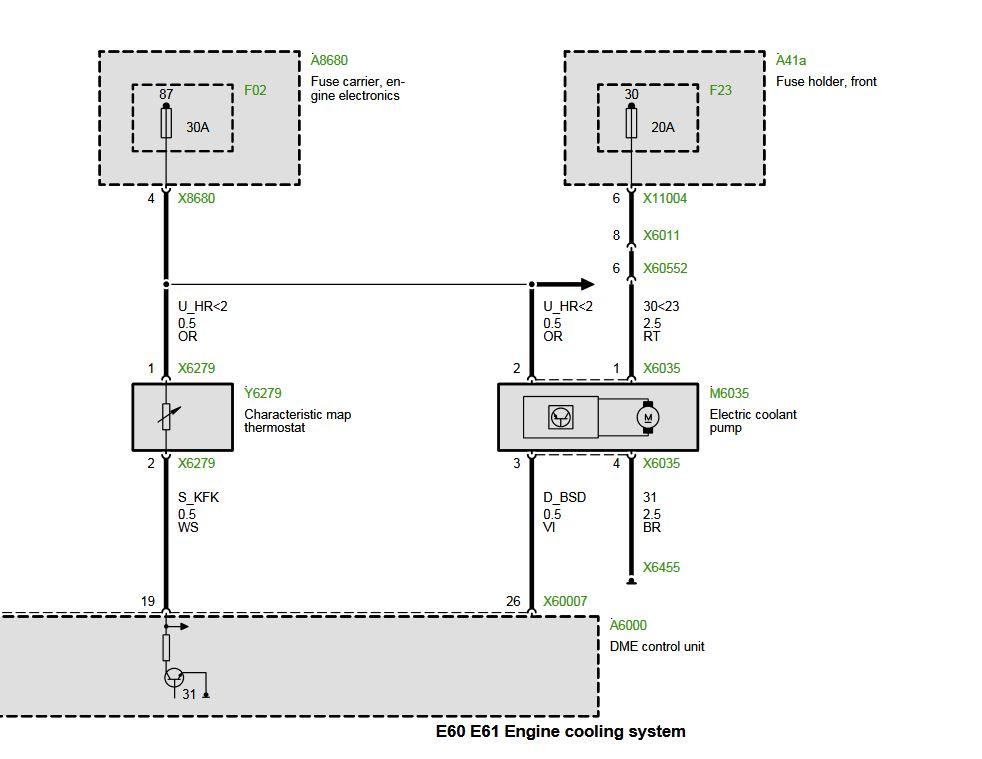 Marvellous Wiring Diagram For Bmw E60 2009 For Full Pump