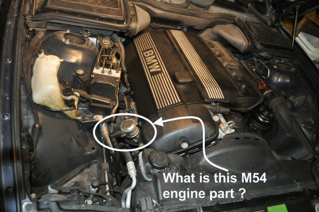 What is this engine part? (Getting to know my M54 engine bay) | Bimmerfest  BMWBimmerfest