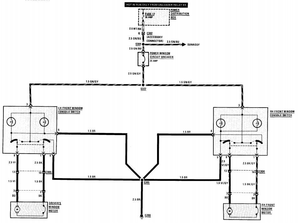 Gm Power Window Switch Wiring Diagram from www.bimmerfest.com