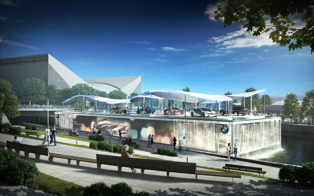 Winning Design for BMW Olympic Pavilion Annouced