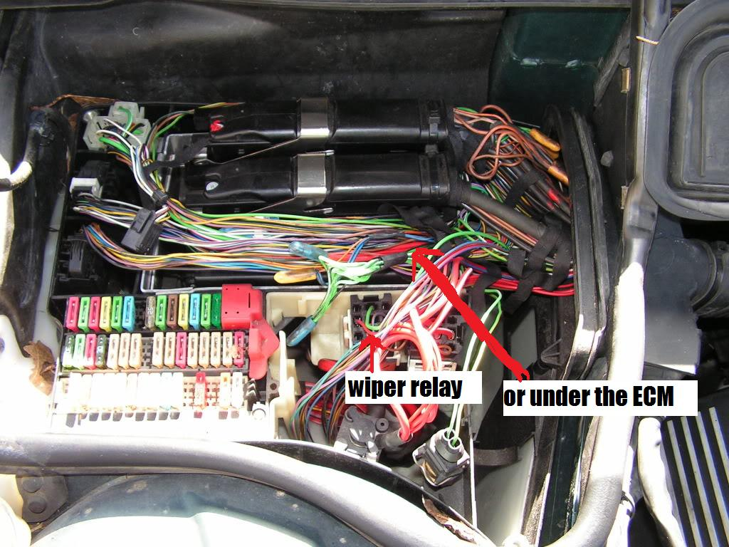 location all fuses bimmerfest bmw forums click image for larger version wiper relay in the e38 module box jpg