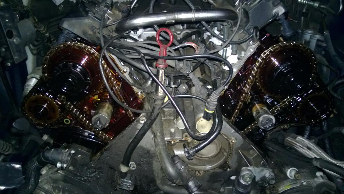 San Jose BMW >> 1999 BMW 540i - timing chain and tensions - cost and time ...
