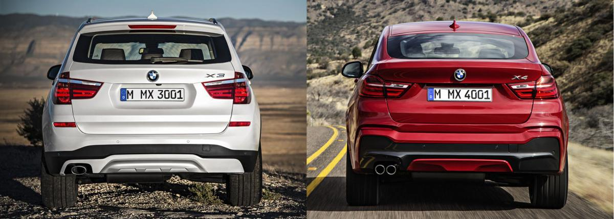 Bmw X3 Vs X4 Photo Comparison Bimmerfest Bmw Forums