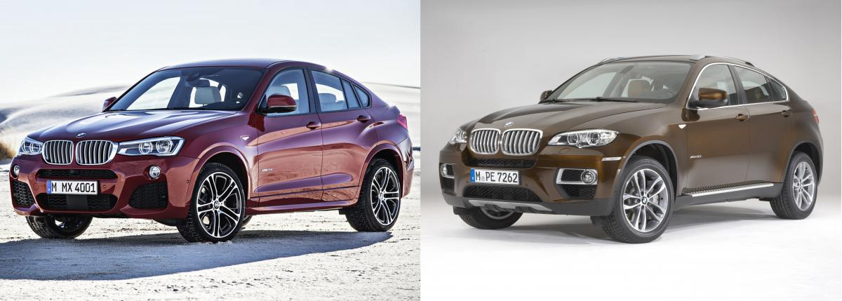 Bmw X4 Vs X6 Photo Comparison Bimmerfest Bmw Forums