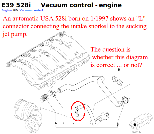 E39 M52 owners: Please check your realoem diagrams against your vehicle &  help us out | Bimmerfest BMWBimmerfest