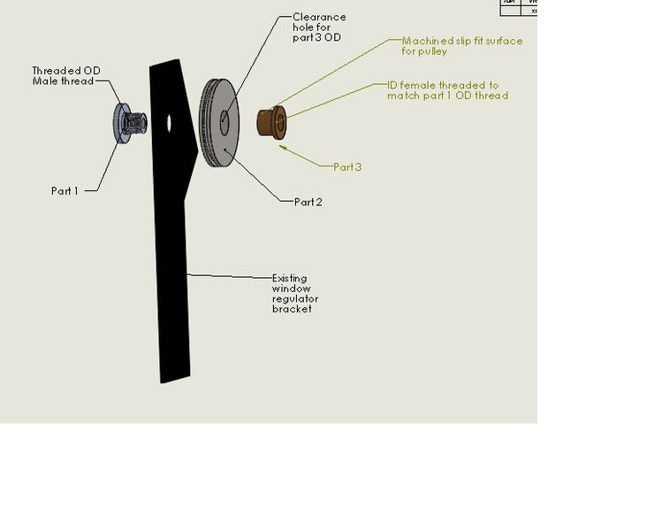 BRAND NEW BMW 3 SERIES E46 REAR RIGHT OFF SIDE ELECTRIC WINDOW REGULATOR