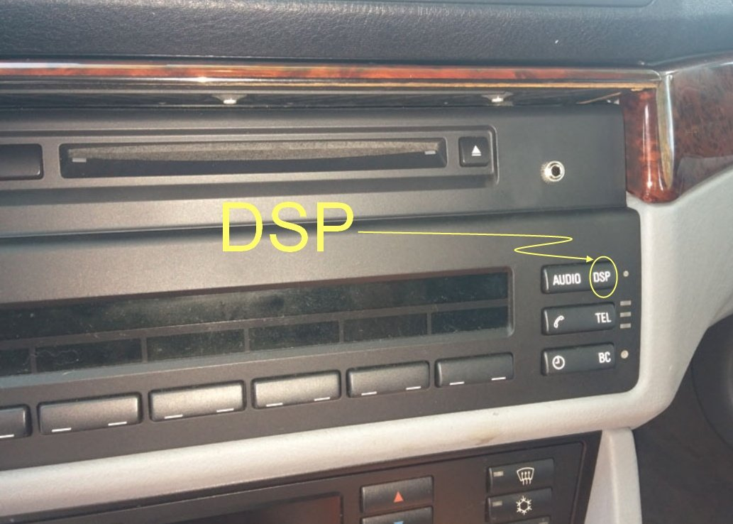 How do you know whether you have non-DSP or DSP audio system & what's the  difference? | Bimmerfest BMWBimmerfest