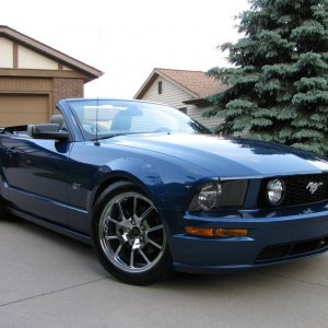 2007 Mustang GT convertible Brenspeed Stage 3 Saleen Supercharger package