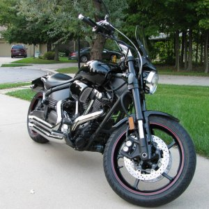 2007 Yamaha Road Star Midnight Warrior
