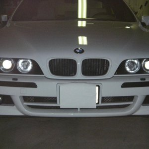 2003 540 alpine white grille
