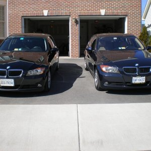 My two 2007 328xi's