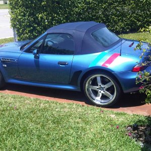 Z3m roadster with stripes