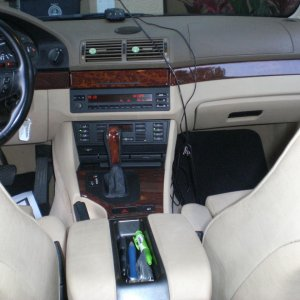 Center Console and shifter
