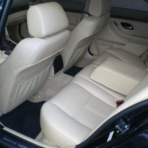 LEFT REAR interior