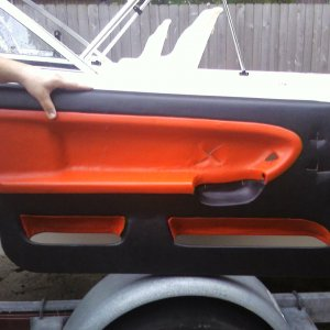 Driver side door panel almost finished.... Like it?