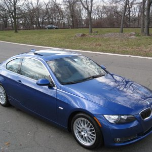 "#2: Out in Palisades Parkway in New Jersey - on the way to swap my winter tire package (17"" Beyern & Michelin WinterSport)  for my summers."