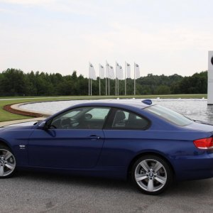 BMW Performance Center Delivery - Outside the Zentrum museum/visitors center on the BMW factory grounds.