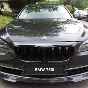 My 2012 BMW 750i with Monster Eyelids installed