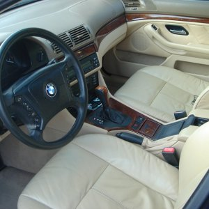 Interior in great condition